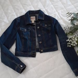 Mossimo Short Blue Jean Jacket S